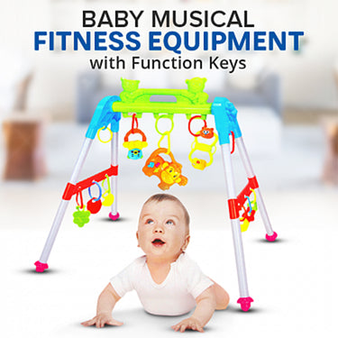 Baby Musical Fitness Equipment With Function Keys, AK-8805A-8808A