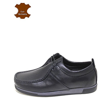 REGUZZO Derbies Story Denver 100% Cuir - Noir