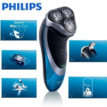 RASOIR PHILIPS AT890 - RECHARGEABLE - WATER RESISTE