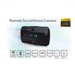 T10 Spy Camera Video Sound Recorder Alarm Clock with Wi-Fi Monitoring - Spy Cameras