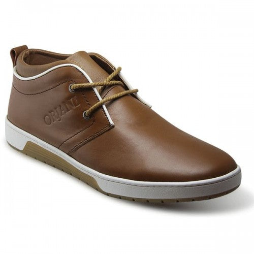 BOTTINE CUIR - SM-136- Brown