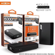MOXOM MCK 020 10000MAH DUAL USB PORT AFFICHAGE LED POWER BANK