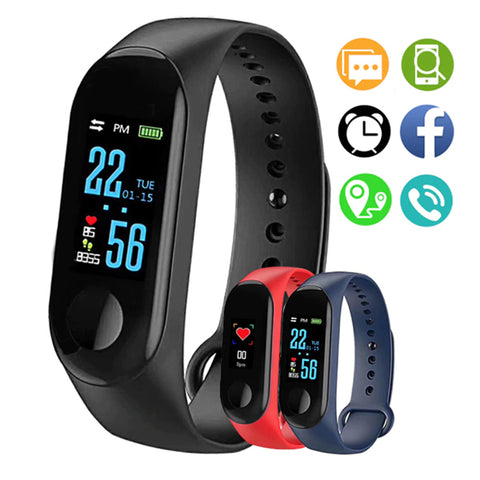 Bracelet M3 Bluetooth Version Internationale, Smart Watch Montre Connectée