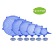 Silicone Stretch Lids 6pcs-Pack