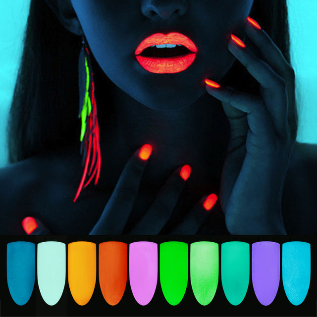 colors Luminous Glow in the Dark