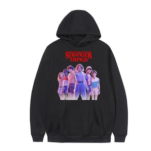 2020 New Arrival Stray Kids District 9 Unlock Concert Fashion Hoodies Cool Fans Long Sleeve Sweatshirts Hooded Women/Men Clothes