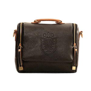 OCARDIAN Bag Women Fashion British crown Handbag pure Color Crossbody Bag Messenger Bags Phone Coin Bag Handbag dropship apr3