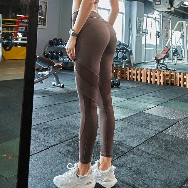 High Waist Yoga Pants  Seamless Leggings sport women fitness Exercise Tights sports Pants for Running sportswear