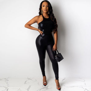 Women Cool Street 2 Pcs Set PU Leather Charm Loose Fashion Suits Slim Chic Long Pencil Pants Sensational Femme Clothes Tracksuit