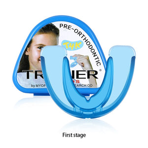 Orthodontic Braces For Children Dental Braces Instanted Silicone Smile Teeth Alignment Trainer Teeth Retainer Mouth Guard Braces