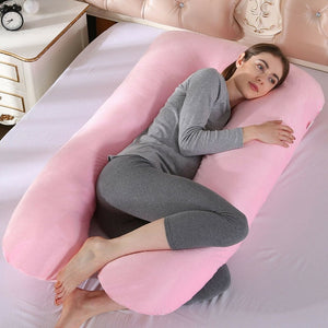 Maternity Breastfeeding Pillow Cotton Women Pregnancy Nursing Sleeping Body Boyfriend Pillow 70 x 130cm