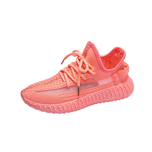 Women Vulcanized Woman Lace Up Sneakers Female Comfortable Running Shoes 2020 Women's Mesh Flats Ladies New Breathable Footwear