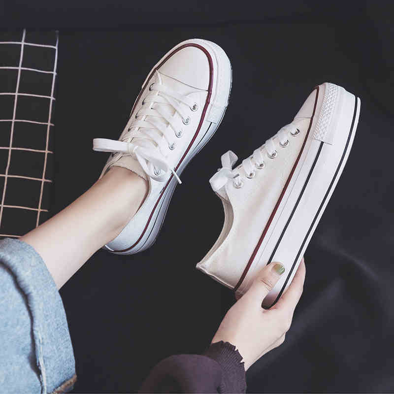 Women Leopard  Shoes Platform high heel Canvas vulcanized sneakers New Arrival  Women Flat Jogging Breathable Casual shoes