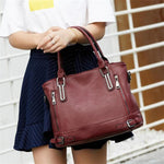 Leather Women's Handbag 2020 New Luxury Women Shoulder Bags Designer Female Crossbody Messenger Bag Lady Totes Bag Femme