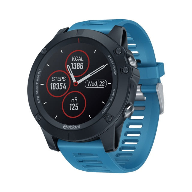 New 2020 Zeblaze VIBE 3 GPS Smartwatch Heart Rate Multi Sports Modes Waterproof/Better Battery Life GPS Watch For Android/IOS