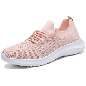 MAIJION Breathable Leisure Sneakers Woman Sport Shoes Outdoor Light Mesh Athletic Ladies Walking Jogging Soft Female Running