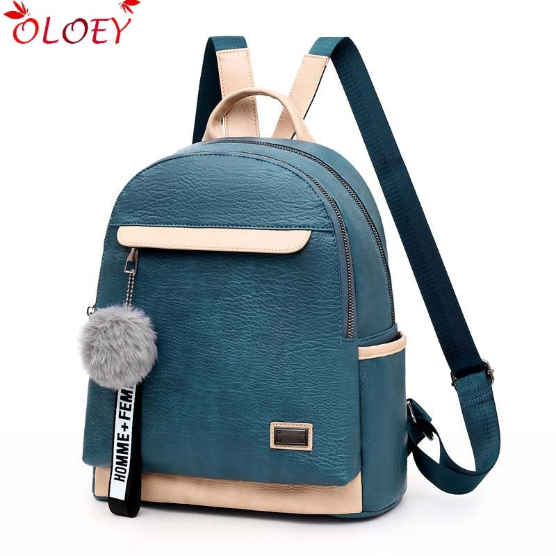 2020 new brand designer leather ladies wild backpack high quality bag ladies teenage ladies travel bag luxury backpack mochila