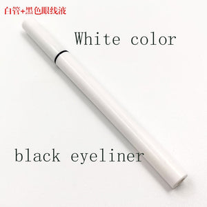 New 1pcs Magic Self-adhesive Eyeliner Pen Glue-free Magnetic-free for False Eyelashes Waterproof No Blooming Eye Liner Pencil