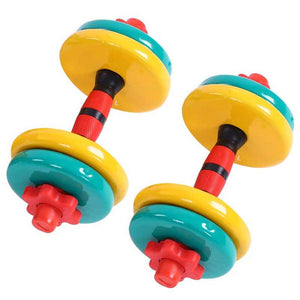 Colorful Removable Non Slip Grip Fitness Gym Home Weight Lifting Hand Dumbbell Bodybuilding Arm Muscle Training Massage Tools