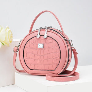 Summer small bag women 2020 new fashion round female bag shoulder round cake bag portable mini crossbody bags