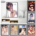 Living Bedroom Home Decoration Accessories Wall Art Modern Abstract Paintings Anime Figure Nirvana Nude Movie Poster Canvas Sexy