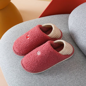 Slippers House Men's Shoes Home  Masculino House Slippers Lovers Women Adult Slipper Man Winter Shoes Fur Slippers for Couple