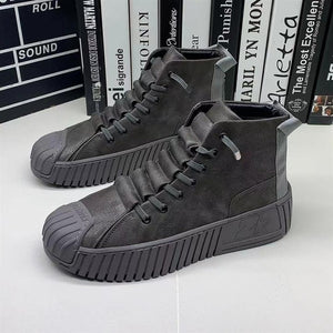 2021 Autumn and winter New Men Martin boots The increased boots Fashion casual shoes board shoes High quality Platform shoes