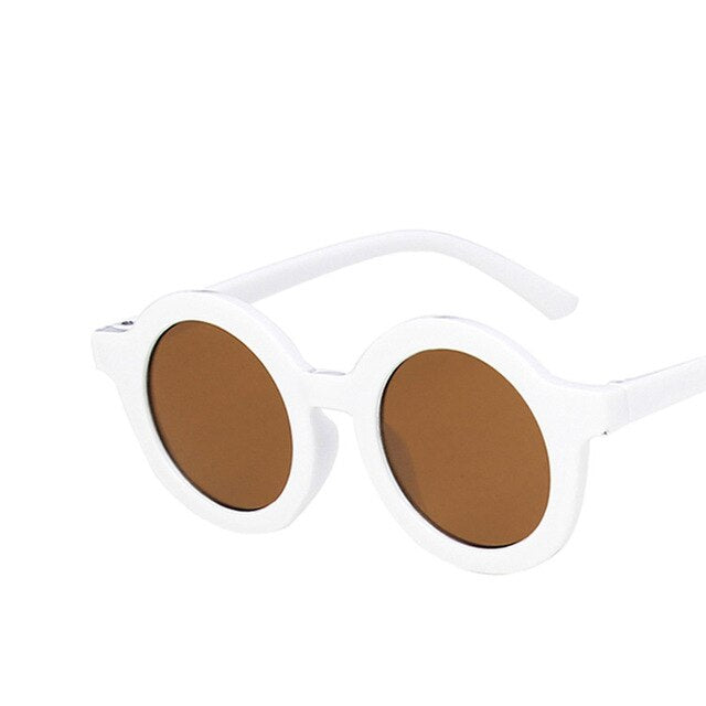RBROVO Round Sunlasses Child Candy Color Sunglasses Boy/Girls 2021 Luxury Brand Designer Sunglasses For Baby Hip Hop Okulary