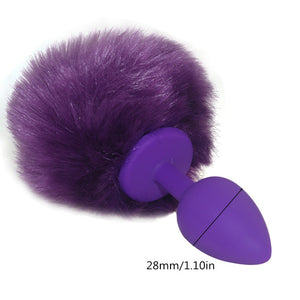 Rabbit Tail Butt Plug Anal Plug for Beginners Anal Sex Toys for Men and Women Cheap and High Quality