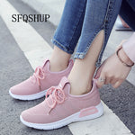New Arrival Breathable Flat Shoes Woman Summer Ladies Casual Shoes Lightweight Pink Soft Sneakers Women Zapatos Mujer