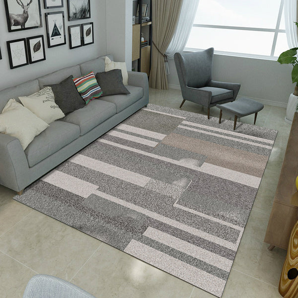 Modern Carpets For Living Room Nordic Ins Geometric Bedroom Rug Soft  Anti-skid Large Carpets And Area Rug Floor Kitchen Door Mat