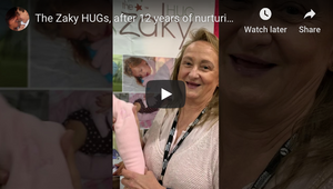 The Zaky HUGs, after 12 years of nurturing babies in a NICU in Georgia