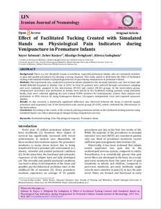 Cochrane Library Publication: Effect of Facilitated Tucking Created with Simulated Hands [The Zaky HUG] on Physiological Pain Indicators during Venipuncture in Premature Infants