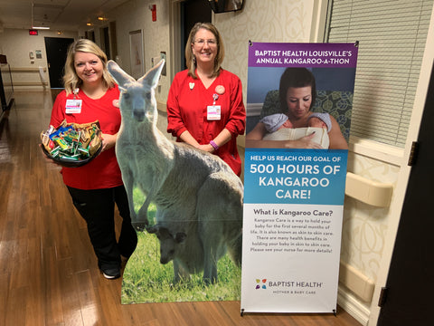 Kangaroo-a-thon at Baptist Health Louisville, KY, October 2019