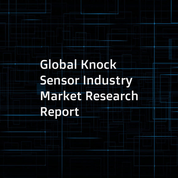Global Knock Sensor Industry Market Research Report