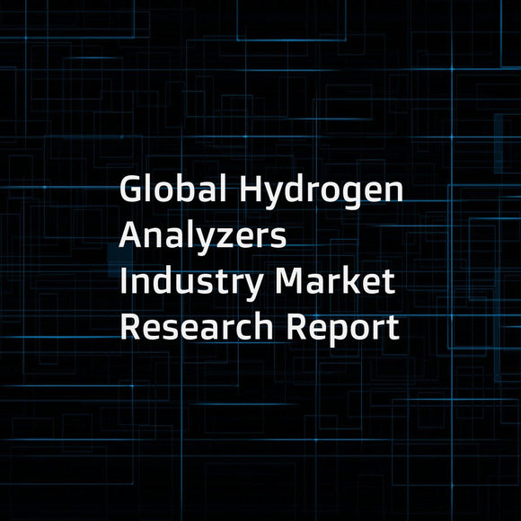 Global Hydrogen Analyzers Industry Market Research Report