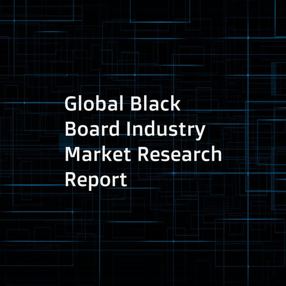 Global Black Board Industry Market Research Report