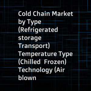 Cold Chain Market by Type (Refrigerated storage  Transport)  Temperature Type (Chilled  Frozen)  Technology (Air blown  Eutectic)  Application (Fruits & Vegetables  Bakery & Confectionery  Dairy  Meat  Fish & Seafood)  and Region - Global Forecast to 2022