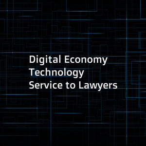 Digital Economy Technology Service to Lawyers