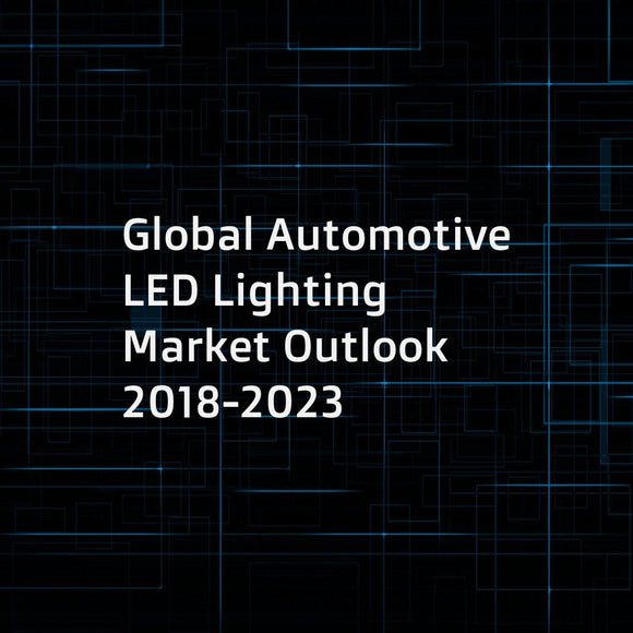 Global Automotive LED Lighting Market Outlook 2018-2023