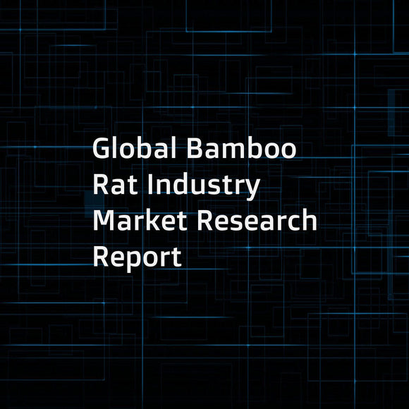 Global Bamboo Rat Industry Market Research Report