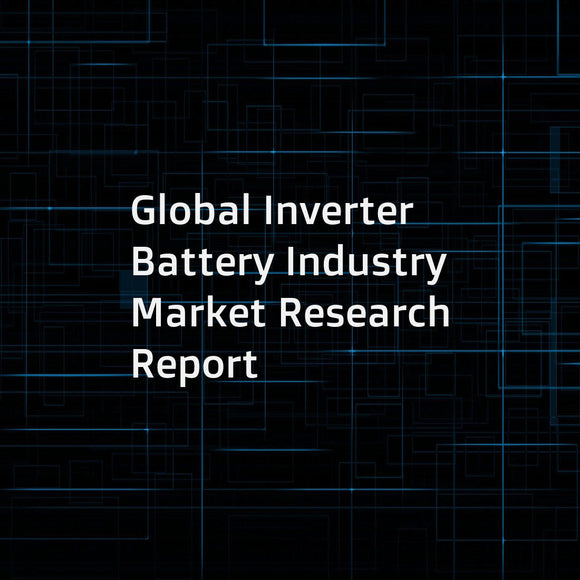 Global Inverter Battery Industry Market Research Report