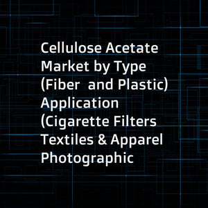 Cellulose Acetate Market by Type (Fiber  and Plastic) Application (Cigarette Filters  Textiles & Apparel  Photographic Films  Tapes & Labels)  Region (North America  Europe  APAC  Middle East & Africa  South America) - Global Forecast to 2022