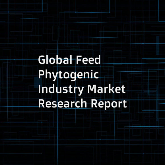 Global Feed Phytogenic Industry Market Research Report