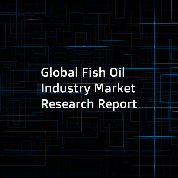 Global Fish Oil Industry Market Research Report