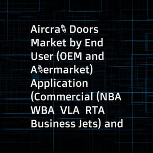 Aircraft Doors Market by End User (OEM and Aftermarket)  Application (Commercial (NBA  WBA  VLA  RTA  Business Jets) and Military (Transport Aircraft  Helicopter))  Door Type (Passenger  Cargo  Emergency  Access  Landing Gear) - Global Forecast to 2022