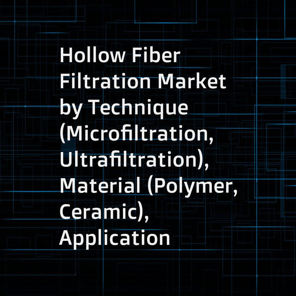 Hollow Fiber Filtration Market by Technique (Microfiltration, Ultrafiltration), Material (Polymer, Ceramic), Application (Harvest & Clarification, Concentration, Perfusion), End User (Pharmaceutical Manufacturer, CRO, CMO) - Global Forecast to 2023
