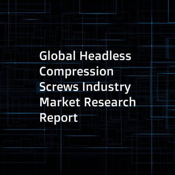 Global Headless Compression Screws Industry Market Research Report