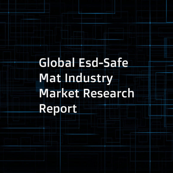 Global Esd-Safe Mat Industry Market Research Report