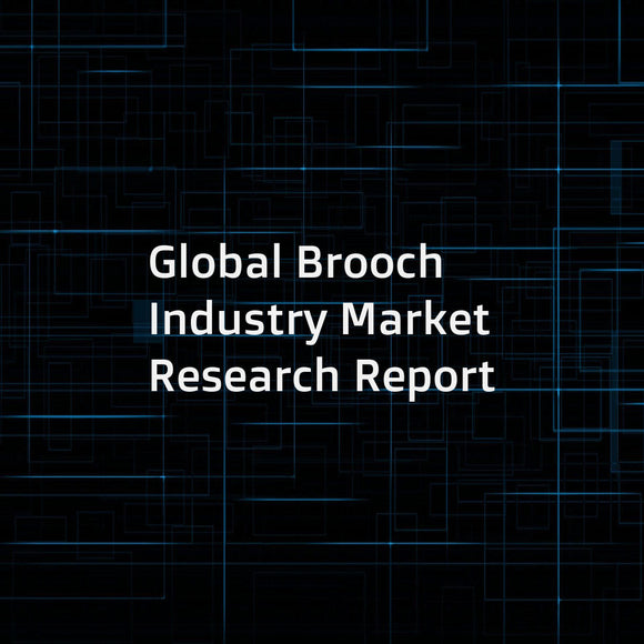 Global Brooch Industry Market Research Report